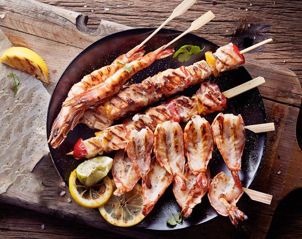 vis voor de barbecue s-markt